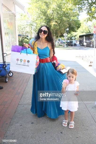 Stacey Bendet Eisner attends the Warner Brothers Pictures special screening of Smallfoot at the UA East Hampton Theater and at Dylan's Candy Bar on...