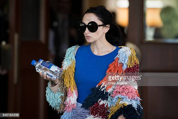 Stacey Bendet Eisner chief executive officer and creative director of Alice Olivia attends the annual Allen Company Sun Valley Conference July 5 2016...