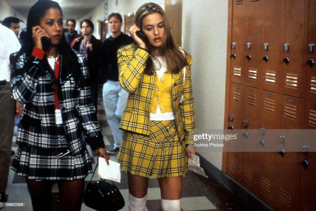 Stacey Dash And Alicia Silverstone In 'Clueless' : News Photo