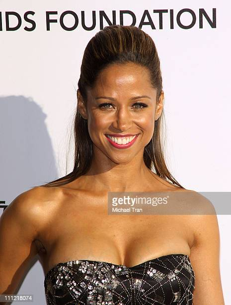 Stacey Dash arrives to the 18th Annual Elton John AIDS Foundation Academy Awards Viewing Party held at Pacific Design Center on March 7 2010 in West...