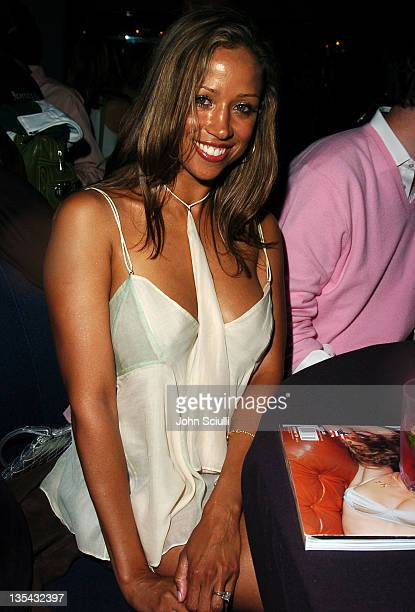 Stacey Dash during America Magazine Party Hosted by Damon Dash at The Concorde in Hollywood California United States