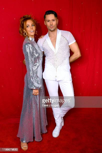 Stacey Dooley and Jake Leigh during the Strictly Come Dancing Arena Tour 2020 at Arena Birmingham on January 15 2020 in Birmingham England