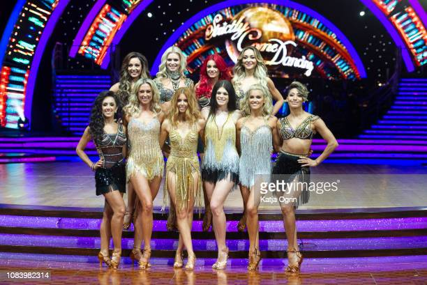 Stacey Dooley Ashley Roberts Lauren Steadman Faye Tozer Janette Manrara Dianne Buswell Karen Clifton Nadiya Bychkova Luba Mushtuk and Amy Dowden...