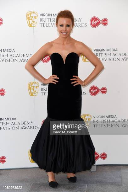 Stacey Dooley attends the Virgin Media British Academy Television Award 2020 at Television Centre on July 31 2020 in London England