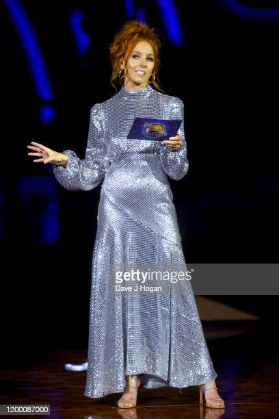 Stacey Dooley during the opening night of the Strictly Come Dancing Arena Tour 2020 at Arena Birmingham on January 16 2020 in Birmingham England