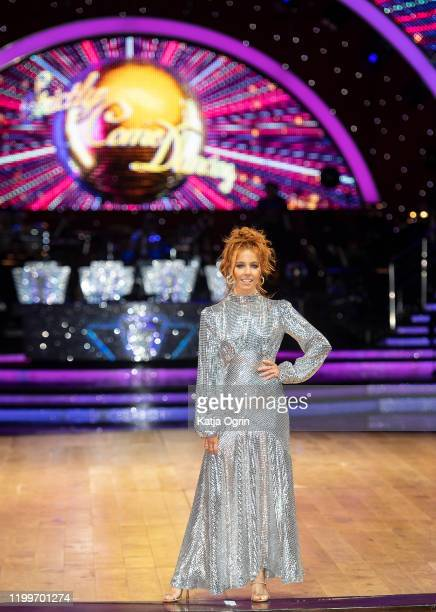 Stacey Dooley during the Strictly Come Dancing Arena Tour 2020 photocall at Arena Birmingham on January 15 2020 in Birmingham England