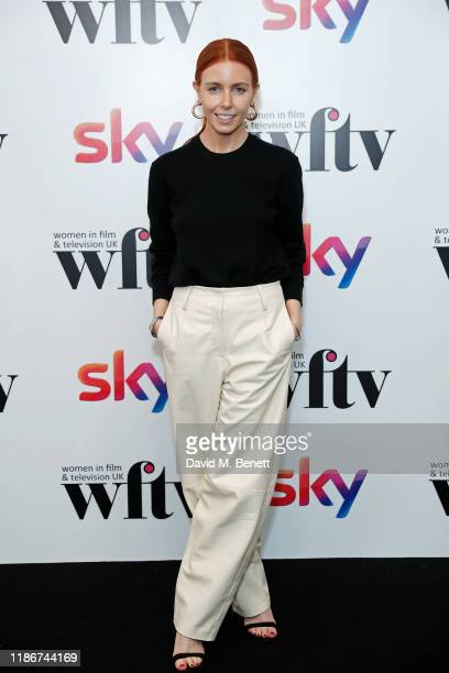Stacey Dooley in the winners at the Women in Film and TV Awards 2019 at Hilton Park Lane on December 06 2019 in London England