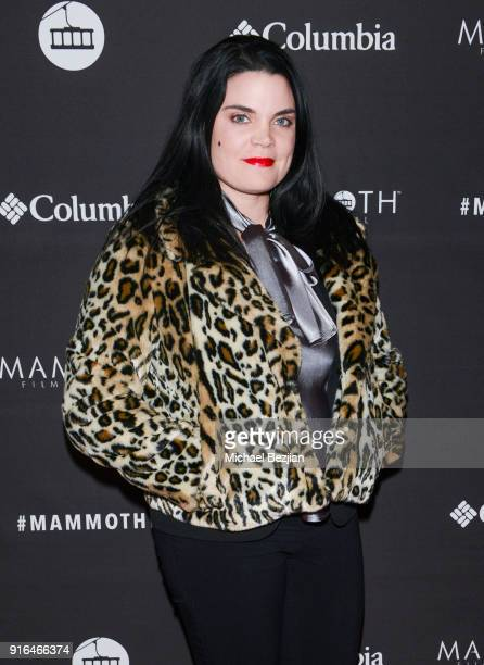 Stacey Fairley arrives at Unsolved The Murders Of Tupac and The Notorious BIG at Inaugural Mammoth Film Festival Day 2 on February 9 2018 in Mammoth...
