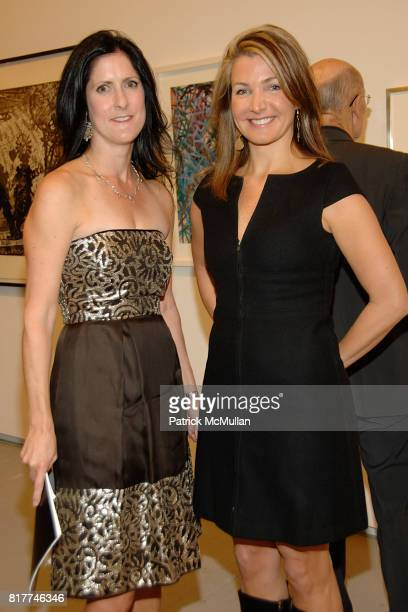Stacey Goergen and Eliza Osborne attend DRAWING GIFTS 7th Annual Benefit Auction for THE DRAWING CENTER at 548 West 22nd on October 6, 2010 in New...