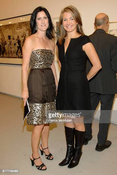 Stacey Goergen and Eliza Osborne attend DRAWING GIFTS 7th Annual Benefit Auction for THE DRAWING CENTER at 548 West 22nd on October 6 2010 in New...