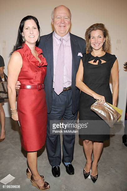 Stacey Goergen Jamie Niven and Eliza Osborne attend Drawing Gifts 2008 The 5th Annual Benefit Auction for the DRAWING CENTER at Marianne Boesky...
