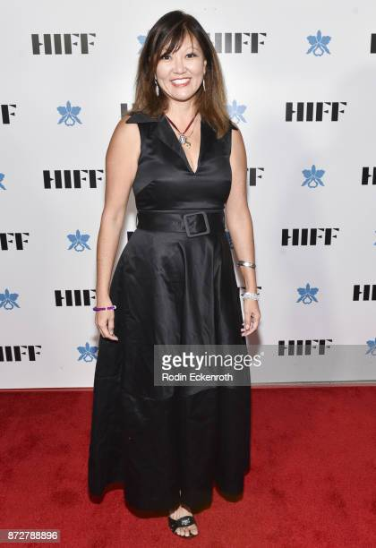 Stacey Hayashi attends the 37th Annual Hawaii International Film Festival Gala presented by Halekulani on November 10 2017 in Honolulu Hawaii