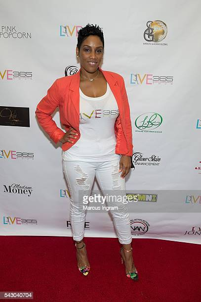 Stacey J attends the LIVE 365 Empowerment Tour Atlanta on June 25 2016 in Atlanta Georgia