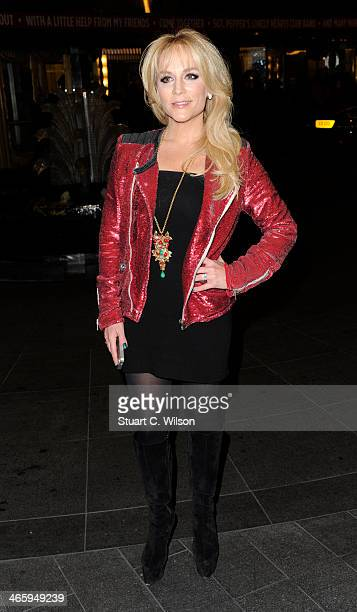 Stacey Jackson attends 'Kate Moss At The Savoy' an exhibition of never before seen photographies of Kate Moss at The Savoy Hotel on January 30 2014...