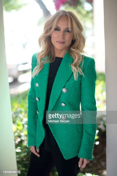 Stacey Jackson poses for a portrait at The Artists Project Giveback Day on May 28, 2021 in Los Angeles, California.