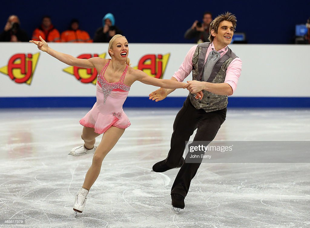 ISU European Figure Skating Championships 2014 : Day 3
