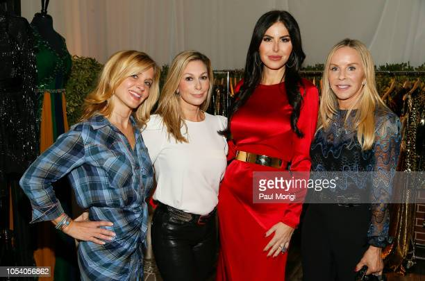 Stacey Lubar Stephanie Lemer Amy Baier and Cindy Jones celebrate the SemSem PopUp Launch at Cafe Milano on October 26 2018 in Washington DC