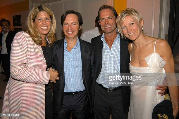 Stacey McLaughlin John Barman Kelly Graham and Betsy Pearce attend Museum of the City of New York 2005 Director's Council Summer Party at Museum of...