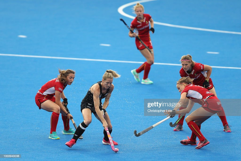 New Zealand v Belgium - FIH Womens Hockey World Cup
