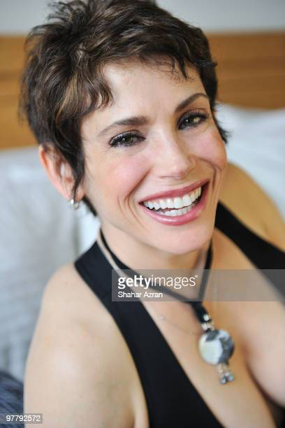 Stacey Nelkin attends a portrait shoot on January 22 2010 in New York City