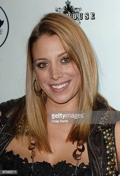Stacey Oristano arrives at the Shine On Sierra Leone Foundation Benefit at Playhouse Hollywood on November 11 2009 in Los Angeles California