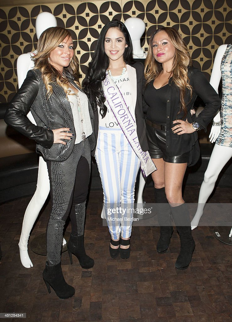 Stacey Silva, Vianey Arana and Darcey Silva attend House Of