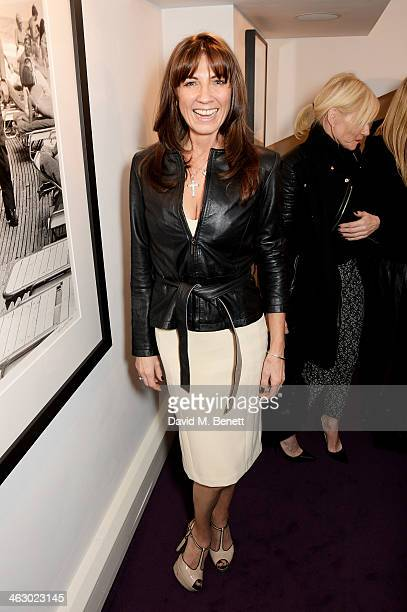 Stacey Smith attends a private view of 'The Best Of Terry O'Neill' exhibition at The Little Black Gallery on January 16 2014 in London England