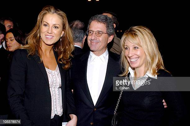 Stacey Snider Ron Meyer and Mary Parent during Meet the Fockers Los Angeles Premiere Red Carpet at Universal Amphitheatre in Los Angeles California...