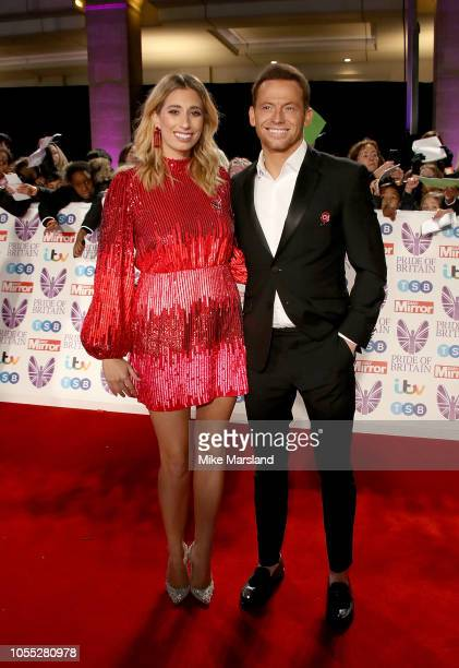 Stacey Solomon and Joe Swash attend the Pride of Britain Awards 2018 at The Grosvenor House Hotel on October 29 2018 in London England
