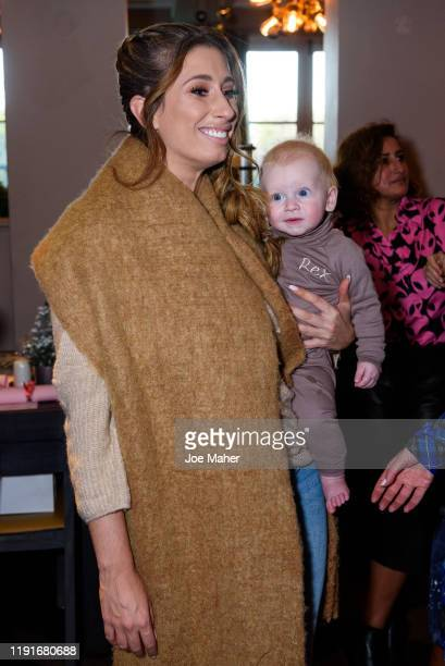 Stacey Solomon and Michelle Kennedy host a festive lunch for mothers to celebrate the untold stories of motherhood on December 03 2019 in Essex...