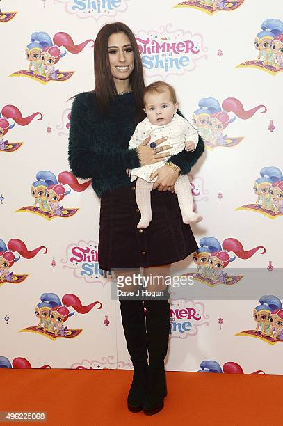 Stacey Solomon and niece Mila attend the UK premiere of the new Nick Jr series Shimmer and Shine launching on Monday 9th November at 430pm on...