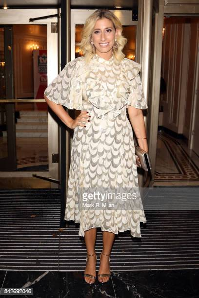 Stacey Solomon attending the TV choice awards on September 4, 2017 in London, England.