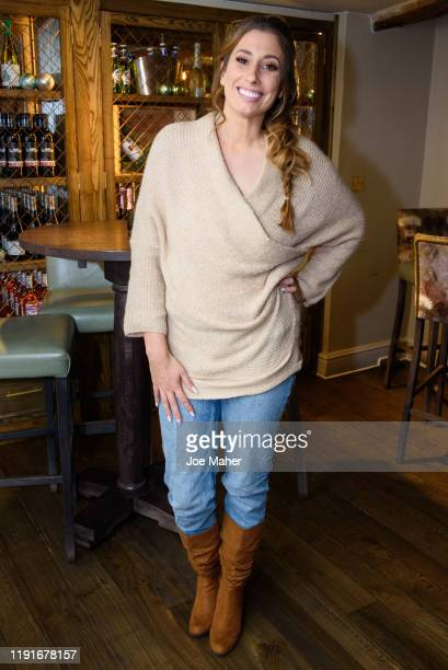 Stacey Solomon attends a festive lunch for mothers to celebrate the untold stories of motherhood hosted by herself and Michelle Kennedy on December...