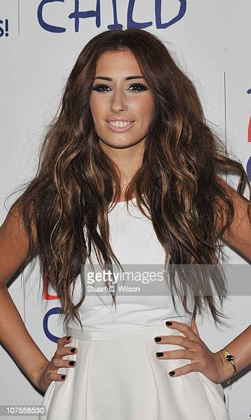 Stacey Solomon attends Capital Rocks at Old Billingsgate on December 13 2010 in London England
