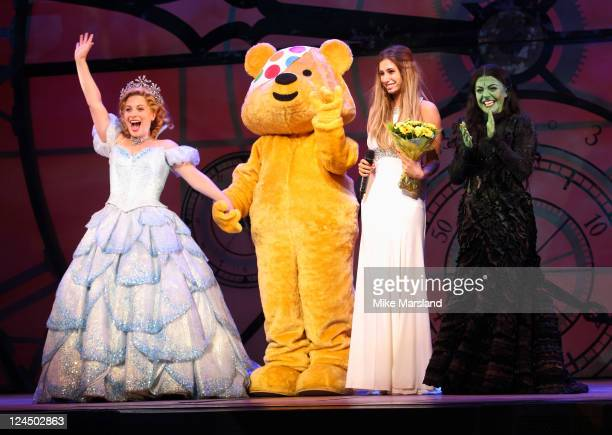Stacey Solomon takes to the stage at musical WICKED in aid of BBC Children in Need POP Goes the Musical at The Apollo Theatre on September 10 2011 in...