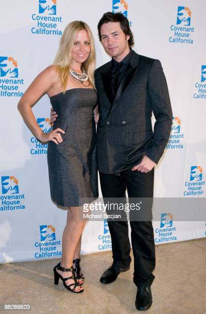Stacey Vereudurist and Michael Johns arrive at the 10th Annual Covenant House Awards Gala at The Beverly Hilton Hotel on June 5 2009 in Beverly Hills...