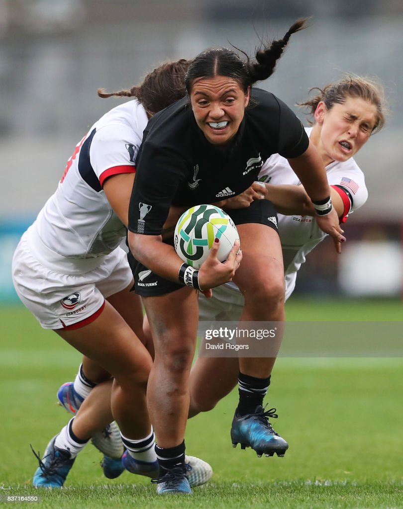New Zealand v USA - Women's Rugby World Cup 2017 Semi Final