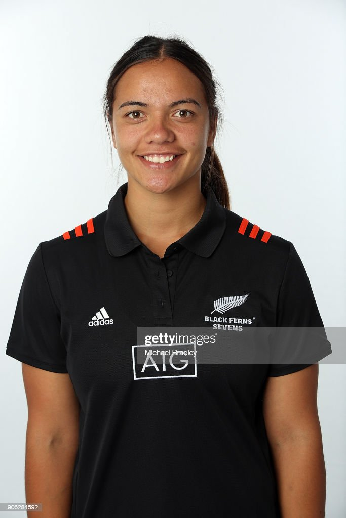New Zealand Women's Rugby Sevens Portrait Session
