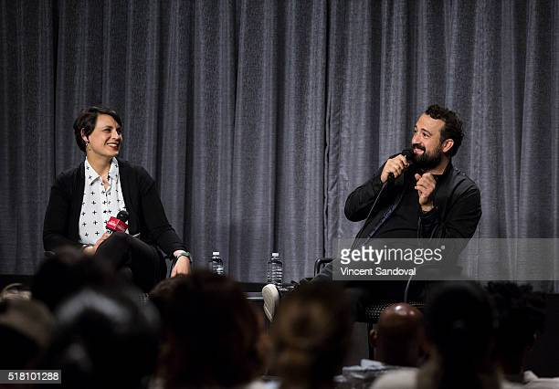 Stacey Wilson Hunt, Hollywood Editor,ÊNew York Magazine and actor Steve Zissis attend SAG-AFTRA Foundation Conversations with Steve Zissis for...