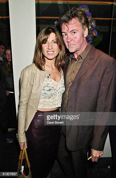 Stacey Young and Paul Young attend the Frost French Launch Party in The Light Bar at St Martins Hotel on September 18 2001 in London