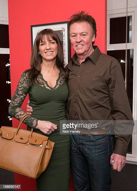 Stacey Young and Paul Young attend the private view of Bruno Bisang 30 Years of Polaroids at The Little Black Gallery on January 15 2013 in London...