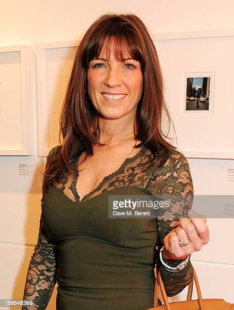Stacey Young attends a private view of 'Bruno Bisang 30 Years Of Polaroids' at The Little Black Gallery on January 15 2013 in London England