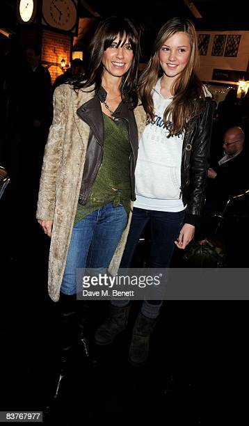 Stacey Young attends the launch party for Winter Wonderland in Hyde Park on November 20 2008 in London England