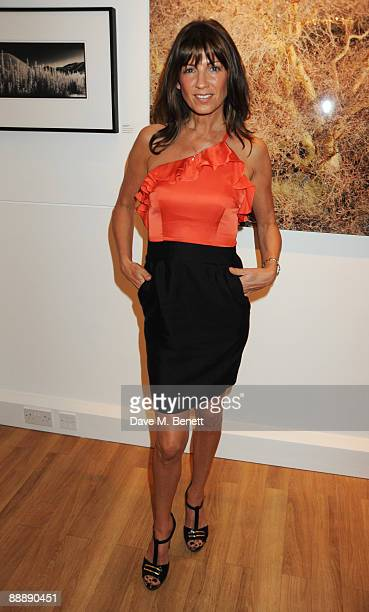 Stacey Young attends the Little Black Gallery Summer Party at the Little Black Gallery on July 7 2009 in London England