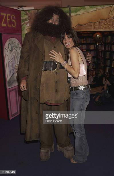 Stacey Young attends the Waterstones Harry Potter Party at the Piccadilly Store on June 21 2003 in London