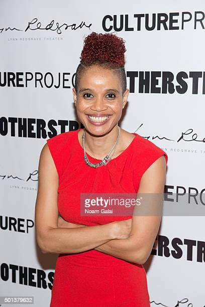 "Staceyann Chin attends the ""MotherStruck!"" opening night at the Lynn Redgrave Theatre on December 14, 2015 in New York City."