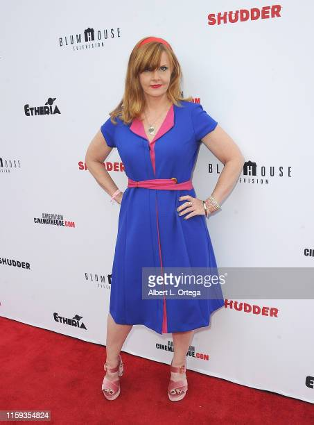 Staci Wilson attends the 6th Annual Etheria Film Showcase held at American Cinematheque's Egyptian Theatre on June 29 2019 in Hollywood California