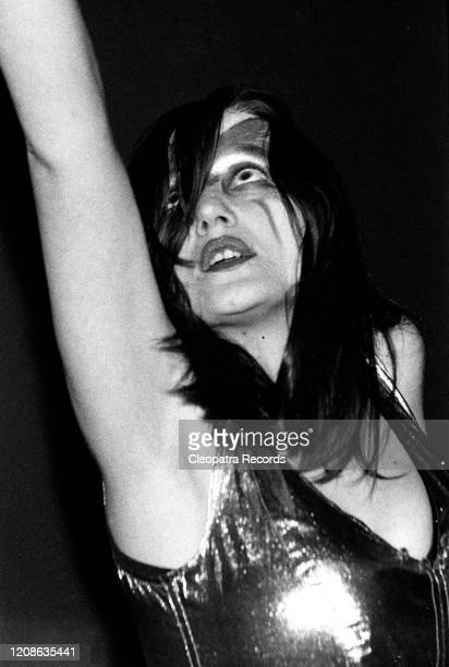 Stacia from the psychedelic / space-rock band Hawkwind Live In London, 1975