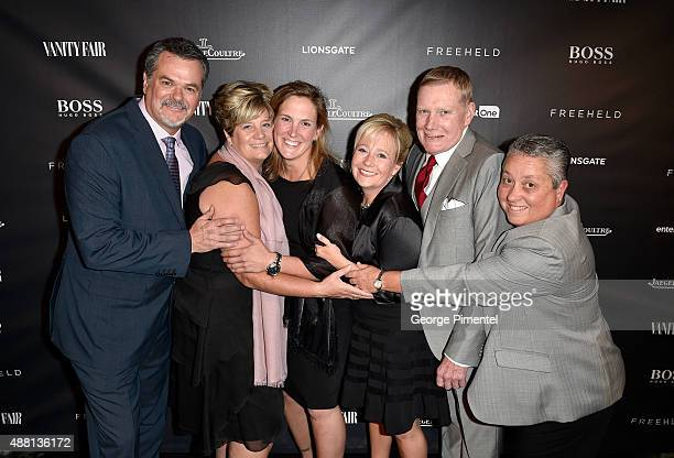 Stacie Andree Dane Wells and guests at the Vanity Fair toast of 'Freeheld' at TIFF 2015 presented by Hugo Boss and supported by JaegerLeCoultre at...