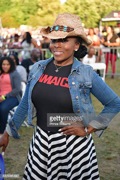 Stacii Jae Johnson attends the Atlanta Funk Fest 2016 at Central Park Place on May 13, 2016 in Atlanta, Georgia.